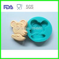 12 Zodiac  Animal Shaped Rat Candy Chocolate Soap Cake Silicone Molds DIY