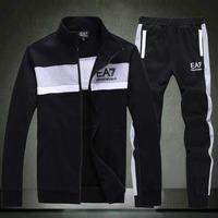 Fashion New brand men's hoodies+pants zipper cardigans long sleeve M-XXL brand set  2 piece/lot