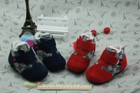 Retail 2014 New Brand Baby&Kids winter warm sports shoes/Children's fashion stitching plush warm outdoor sneakers+Free Shipp