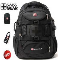 SwissGear  multifunctional backpack 15.6 inch laptop bag  hiking backpack  9337