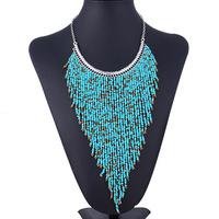 2014 New Pure manual Bohemia Tassel Temperament Pendant Necklace Women Free Shiping