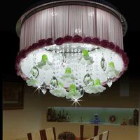 2014New led modern bedroom lamp, crystal lamp k9 crystal, study living room lamps