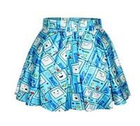 Free shipping fashion new 3D print digital skirt Adventure Time high quality summer lady skirt