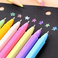 GRJ cute pencil lattice shape mini water color pastel chalk graffiti essential creative DIY
