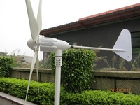Wholesale high quality free energy generator ,hybrid wind turbine generator, 5PCS Blades, CE RoHS ,2Years Warranty