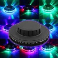 3C New Lamp Disco Bar DJ Party Lighting Rotating Party stage Sunflower Design Voice-activated 48LEDs RGB Stage Light For Sale C3