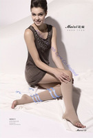 Free shipping Top quality 23-32mmHg Medical Compression Stockings below knee Medical Varicose Elastic Socks/tight open/close toe