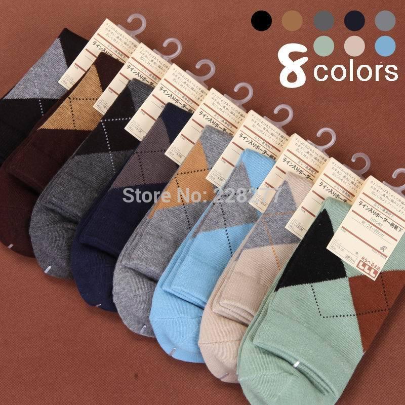 Free Shipping 20pcs=10 pairs/lot Men's cotton Socks, new 2014, Casual style, high qualtiy man sox men(China (Mainland))