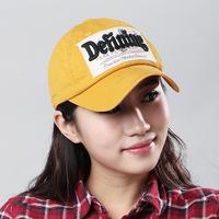 2014 letter baseball cap hat Korean version of the influx of girls summer day sun hat cap hat outdoor tourism
