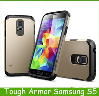1PC For Galaxy S5 Case SGP For Samsung Galaxy I9600 Tough Armor/Slim Armor SPIGEN Korean Back Cover
