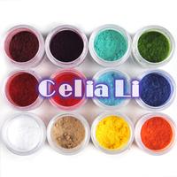New 12 colors jumbo size Nail Decoration Fuzzy Flocking Velvet Nail Powder For acrylic UV gel Nail Art tools Tips Dropshipping