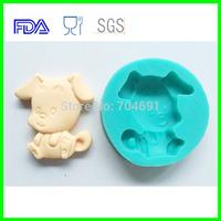 12 Zodiac  Animal Shaped Dog Candy Chocolate Soap Cake Silicone Molds