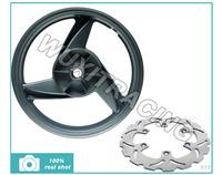 3.5X17 Alloy Rear Wheel Rim & Front Brake Disc Rotor For KASAKI ER5 All