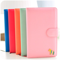 Free shipping creative stationery cute schedule diary notebook with hasp