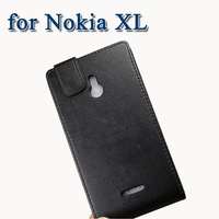 Case for Nokia XL leather flip cover with screen protect phone cases wallet Stand holder luxury box packaging Free shipping