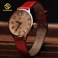 Fashion Casual Women Dress Watches  Women's Fashion  wristwatches Ladies Quartz Clock Leather Strap Watches Relogio Feminino