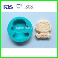 12 Zodiac  Animal Shaped Monkey Candy Chocolate Soap Cake Silicone Molds