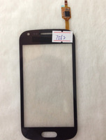 Original Touch Screen external screen Touch Panels digitizer for samsung i7562 7562i i7568 with logo black