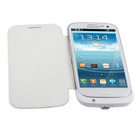 2800mah External Back Up Charger Flip Case Battery For Samsung Galaxy S3 i9300 low price hot sale