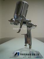 Lowest price freeshipping anest iwata paint spray gun gravity feedtype W-101 spray gun  for car  1.0, 1.3,1.5 1.8 nozzle