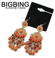 BigBing  jewelry Bohemia female palace retro earrings earrings earrings wholesale Earrings S694