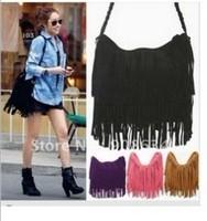 2014 woman's Korean version of the new autumn suede tassel bag BAG019