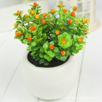 Home decorating ideas simulation bonsai pearl fruit simulation flowers