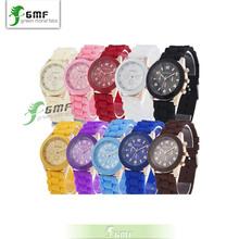 ginebra unisex de cuarzo reloj de diseño nuevo marca deportiva gelatina de silicona reloj reloj de cuarzo reloj para hombres mujeres(China (Mainland))