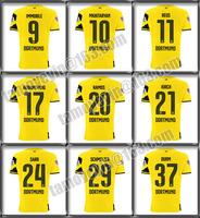 2014/15 BVB Home Shirt Thai version Dortmund Bundesliga & Hemes Sleeve Badges jersey MKHITARYAN #10 REUS #11 AUBAMEYANG #17 JI