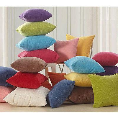 NEW 1PCS Colorful Corn Kernels Corduroy Sofa Decor Throw Pillow Case Cushion Cover Square Office Back Car Cushion ZHT042(China (Mainland))
