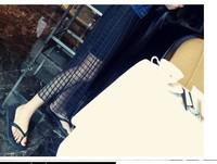 Grid bust skirt 8201-XQ319-P45