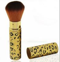 Profession Leopard Makeup Cosmetic Soft Face Cheek Powder Foundation Blush Brush Free shipping & Drop Shipping