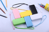 new pudding 5600mAh External Power Bank Single with a USB cable Battery Charger for SAMSUNG IPHONE 4s 5 5C Nokia htc+V8 cable