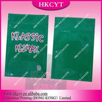 Wholesale Klimax series aluminum foil herbal incense bag / klassic klimax 10g spice potpourri bag
