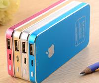 High capacity mobile phone power bank 50000mah portable charger free shipping