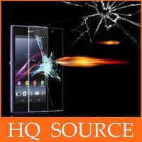50pcs Explosion Proof Premium Tempered Glass screen protector FOR sony xperia z l36h z1 l39h z1 mini m51w z2 l50w+retail box