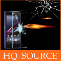 10 pcs FOR sony xperia z l36h z1 l39h z1 mini m51w z2 l50w Explosion Proof Premium Tempered Glass screen protector+retail box
