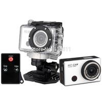 New Arrival!!! 5.0MP Full HD 1080P Underwater Action Sport Camera WiFi Sport DV Mini Camcorder Remote Control Free Shipping