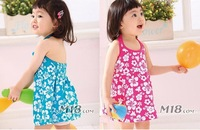 Free Shipping Cheap Good Wholesale 1PC/Lot Children Baby Girl Child Summer Beach Dress Camisole Uppers Braces Birthday Gift