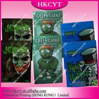 Wholesale Joker Green giant Mad hatter 4g spice potpourri bag / aluminum foil herbal incense ziplock bag