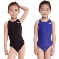 Professional Swimsuit Children & Kid One-Piece Swimming Suit & Sports Racing Swimwear & Girl Bodybuilding Bathing Suit