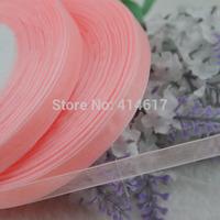 "100Y 3/8"" (10 mm) Sheer Wedding Appliques Craft sewing S007-peach"