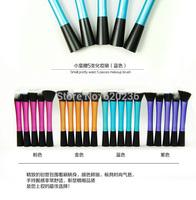 2014 New Sixplus Synthetic Kabuki Kit 5 pcs/set Makeup Brushes, High quality Professional make up brush set 30sets/lot