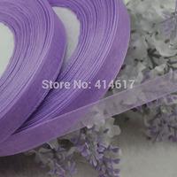 "100Y 3/8"" (10 mm) Sheer Wedding Appliques Craft sewing S045-purple"