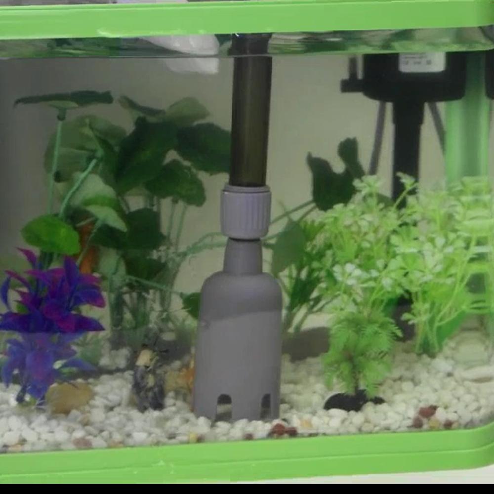 Aquarium Fish Tank Battery Gravel Cleaner Filter Washer Auto Pump Siphon Vacuum Water Change 2014 New Aquarium Accessories(China (Mainland))