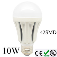50pcs/lot Super brightness 10W E27 LED LED light bulb lamp 42leds bubble Light,chandelier free shipping