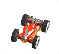 Hot Newest WLtoys WL 2308 Double-sided Speed Car Mini Electric Remote Control RC Toy Cars 3D High Speed RC Stunt Car Toys