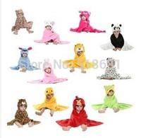2014 baby children boys girls cute animal design soft bathrobe bath towel nighty 0~12 months free shipping