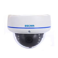 ESCAM Q645R H.264 ONVIF 720P IR Waterproof Mini Dome IP Surveillance with 3.6mm Lens,Support Mobile Detection