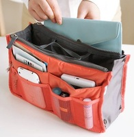 Thickened multifunctional double zipper wash bag BAG025